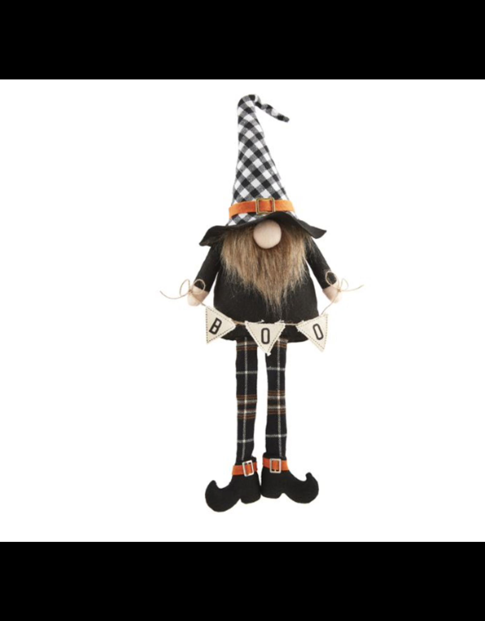 Mud Pie Gnome Checkered Dangle Leg