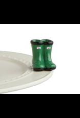 Nora Fleming Mini Jumpin' Puddles (Rainboots)