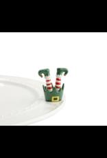 Nora Fleming Mini Jingle Toes Elf Feet