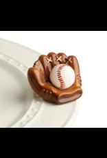Nora Fleming Mini Catch Some Fun (Baseball Mitt)