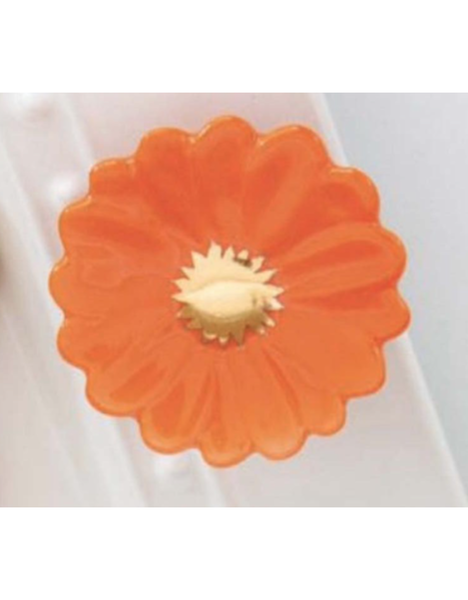 Nora Fleming Mini Gerber Daisy (Orange Flower)