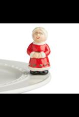 Nora Fleming Mini Ms Claus
