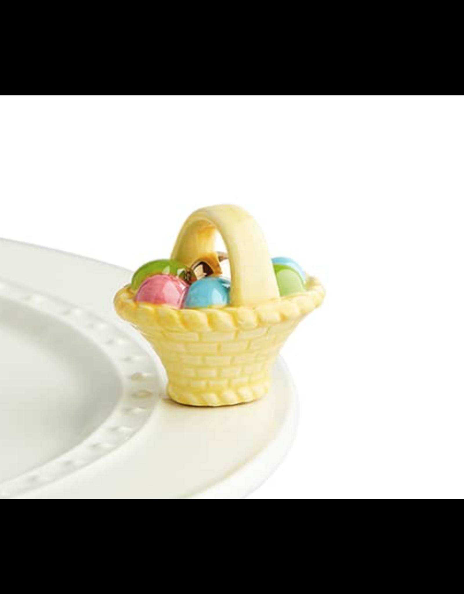 Nora Fleming Mini A Tisket, A Tasket Easter Basket