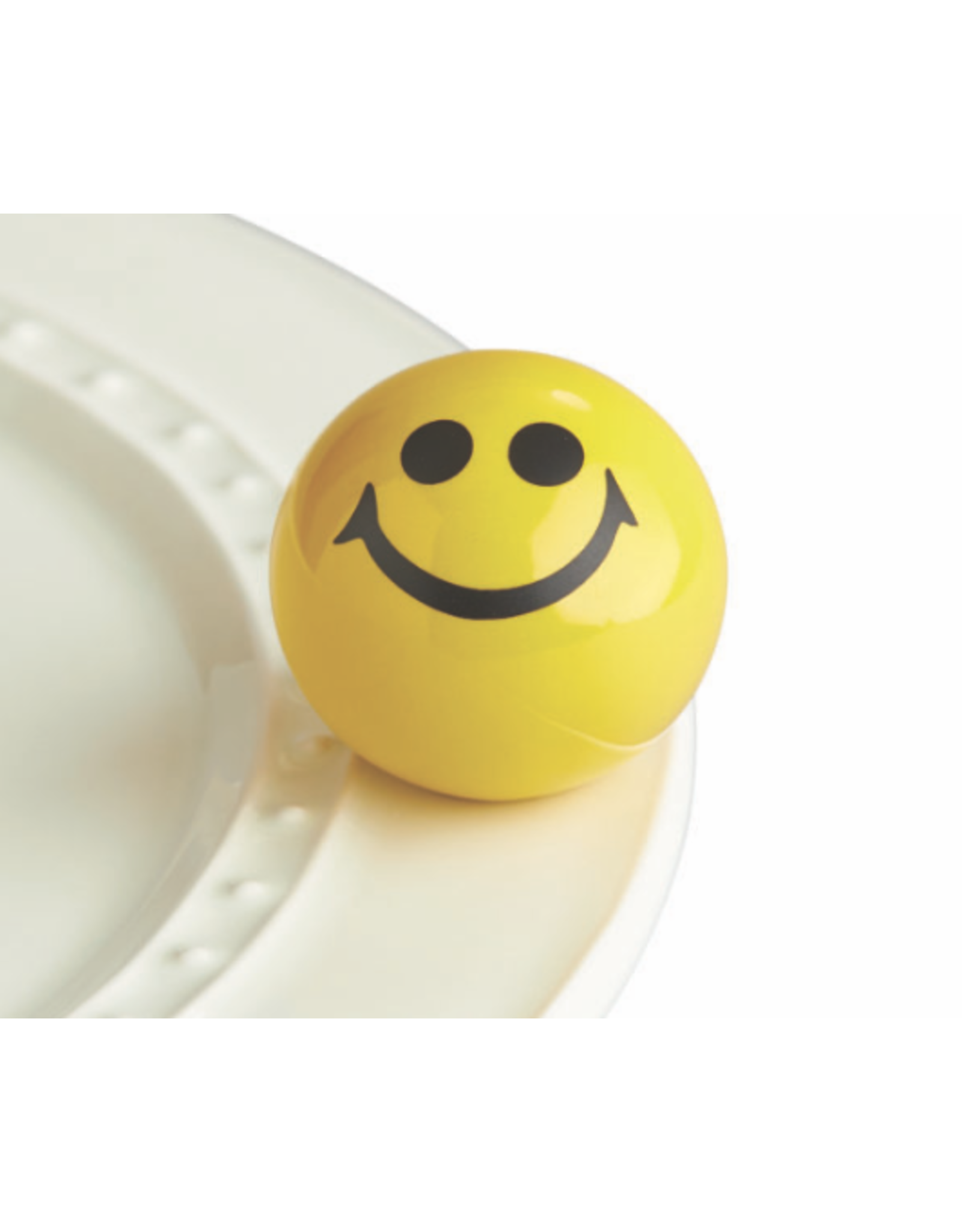 Nora Fleming Mini Happy Place (Smiley Face)