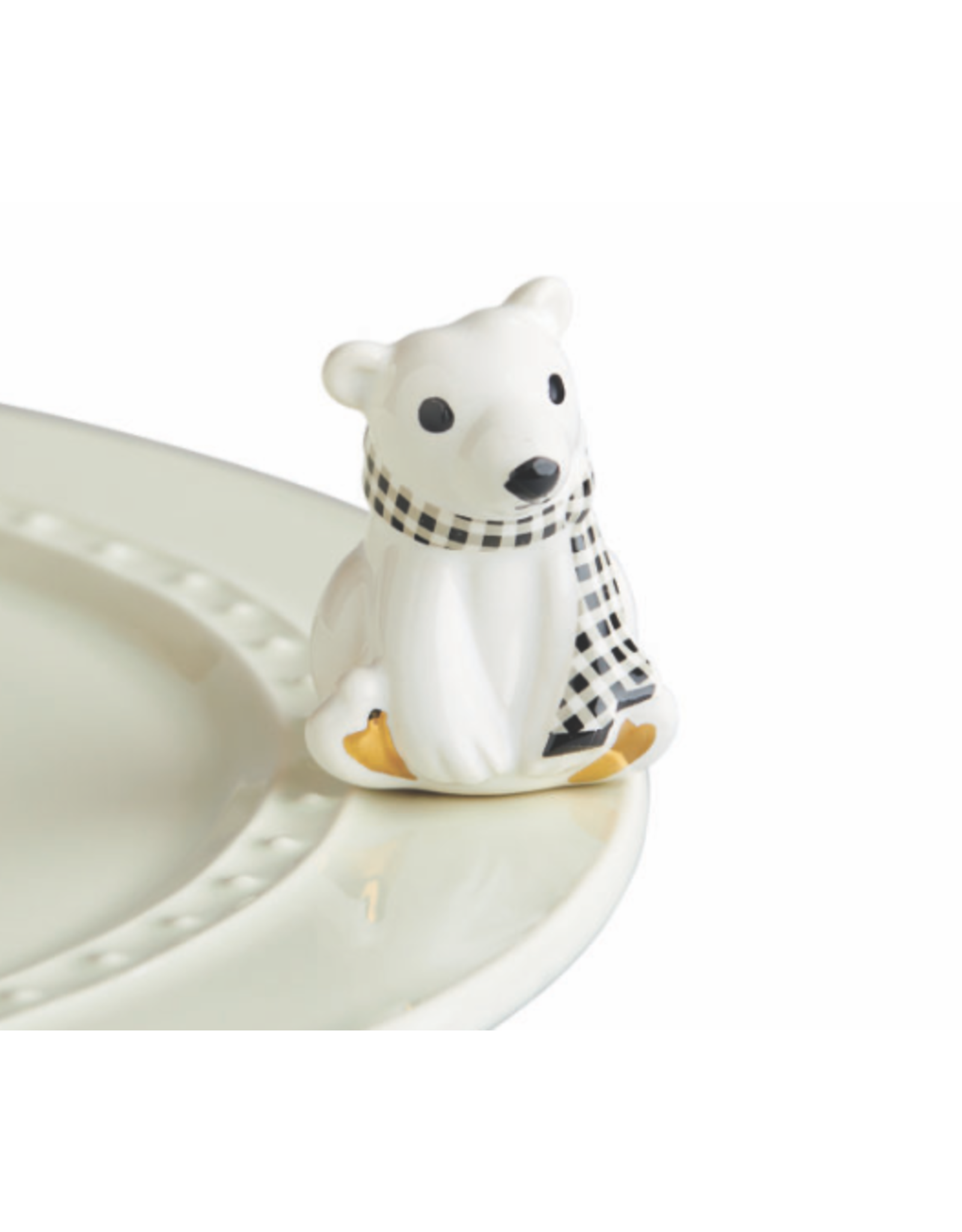 Nora Fleming Mini Polar Brrrrr! (Polar Bear)