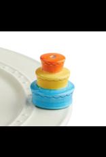 Nora Fleming Mini Birthday Cake/Candle Holder