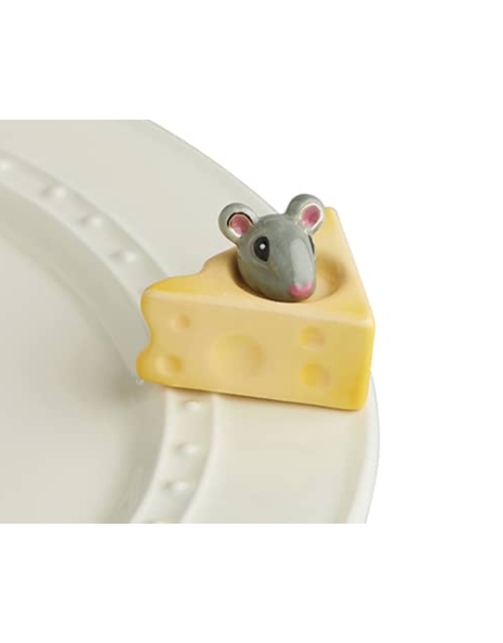 Nora Fleming Mini Cheese Please (Cheese & Mouse)