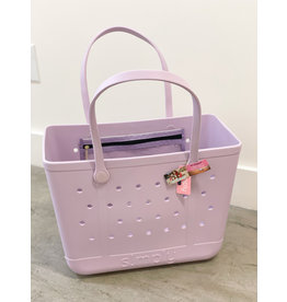 Simply Southern Simply Tote LG Lilac Fall 2021