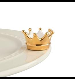 Nora Fleming Mini Gold Crown