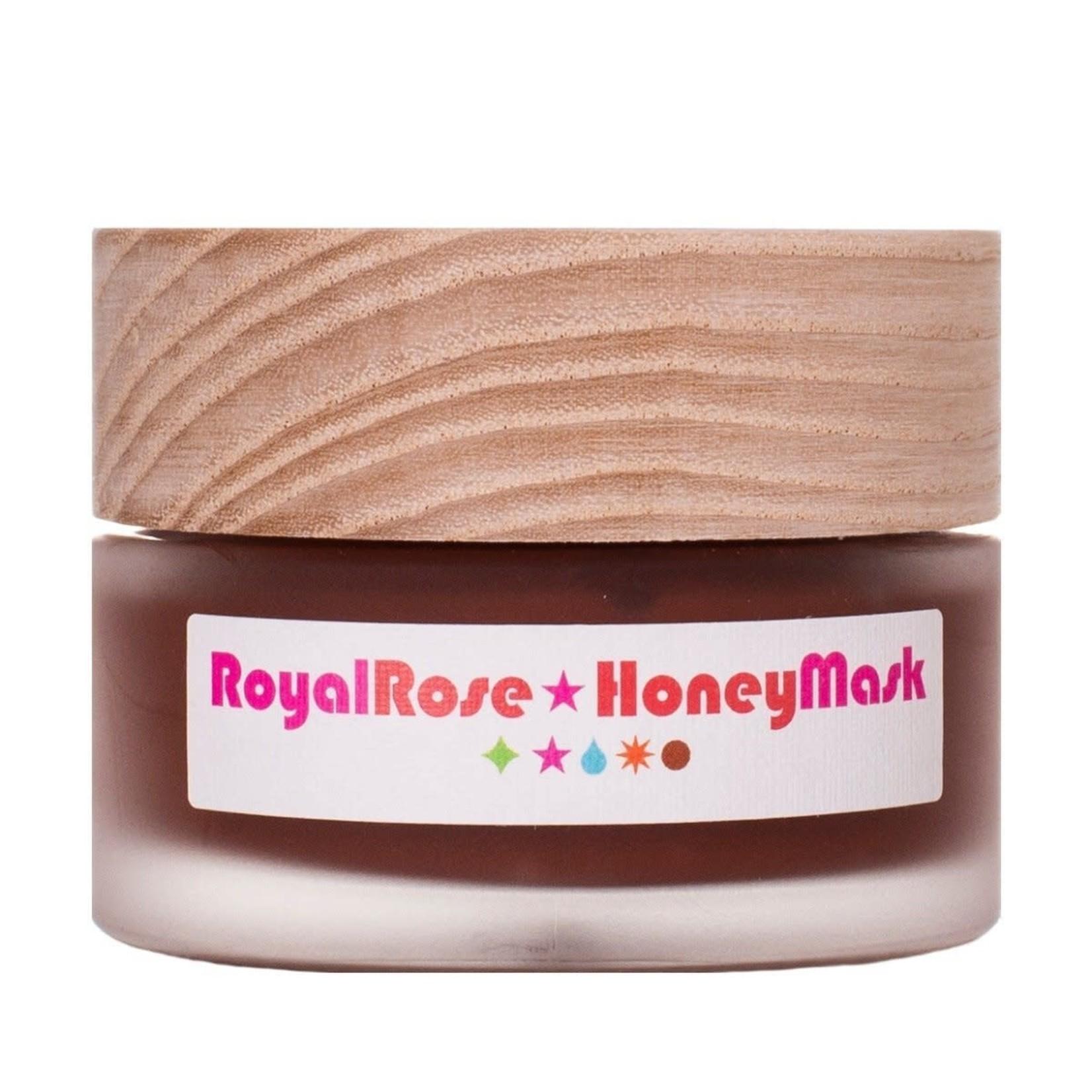 Living libations Rose royale masque au miel