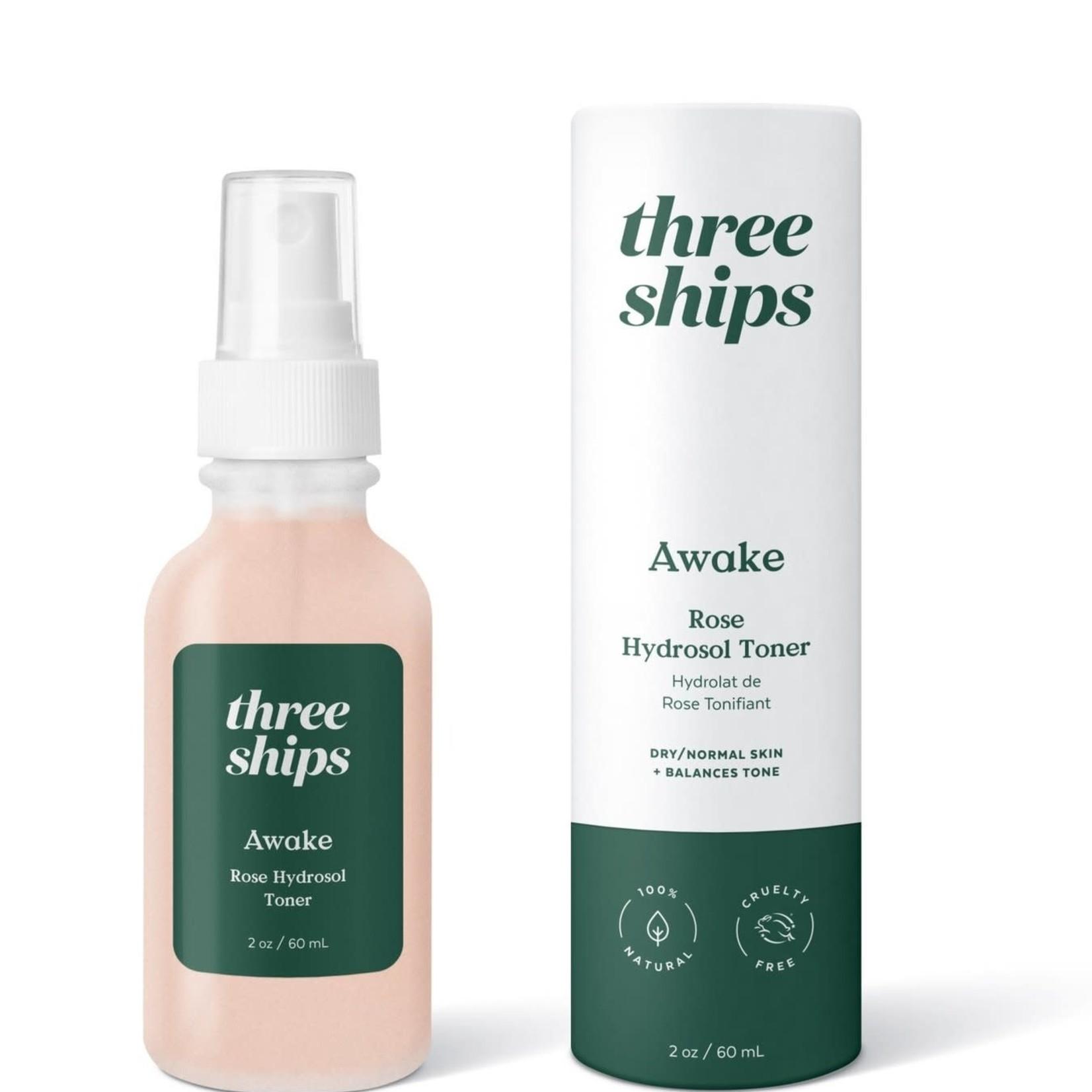 Three ships AWAKE toner à la rose