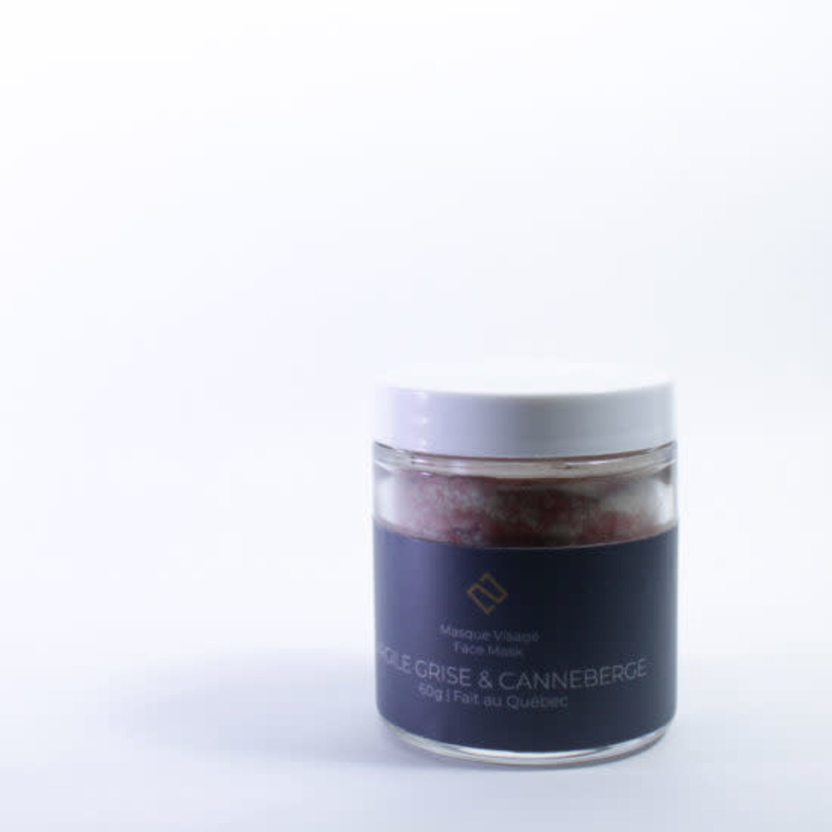 Deux cosmetiques GRAY CLAY AND CRANBERRY MASK