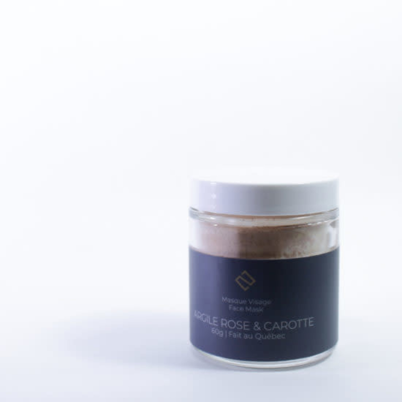 Deux cosmetiques PINK CLAY AND CARROT MASK