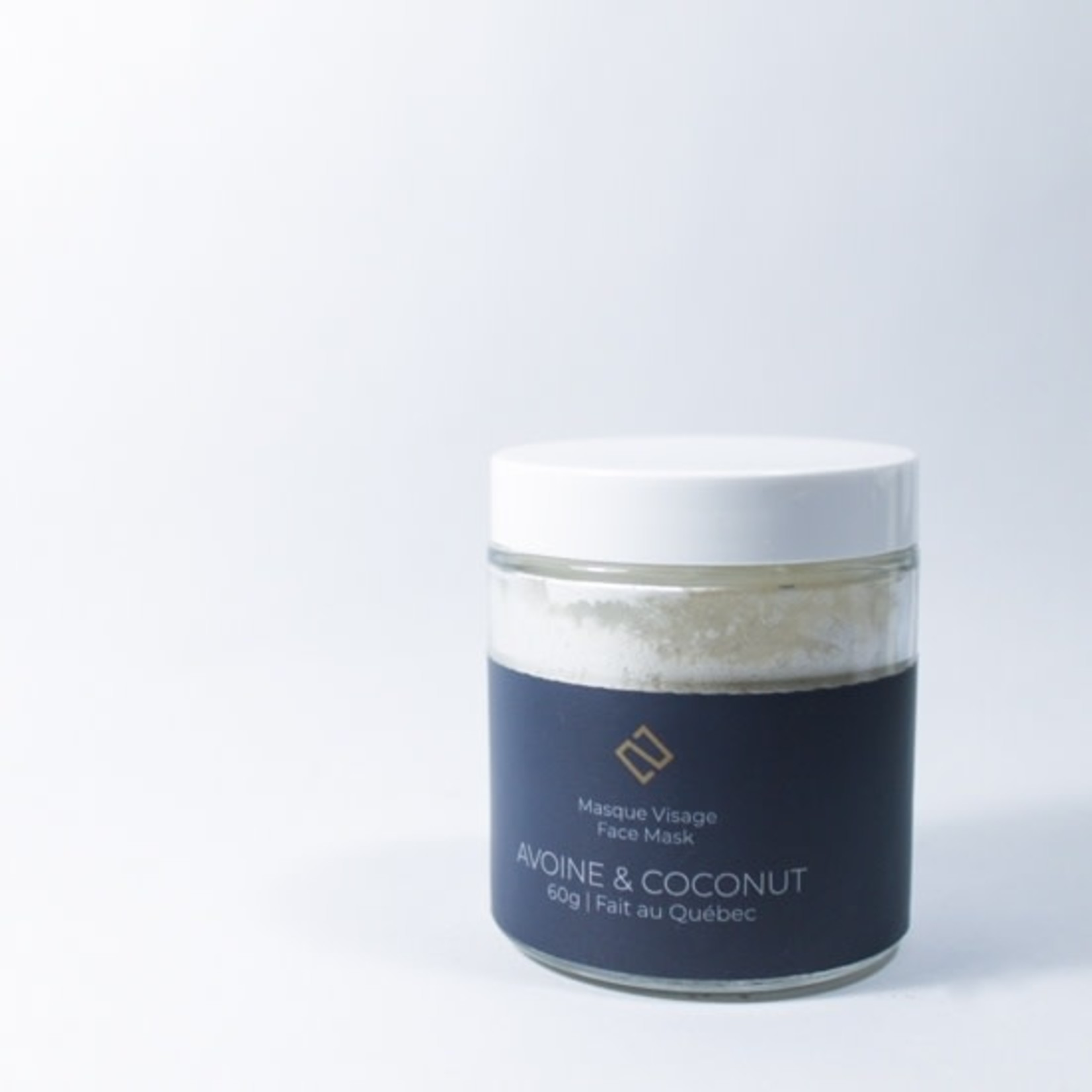 Deux cosmetiques OATS AND COCONUT MASK