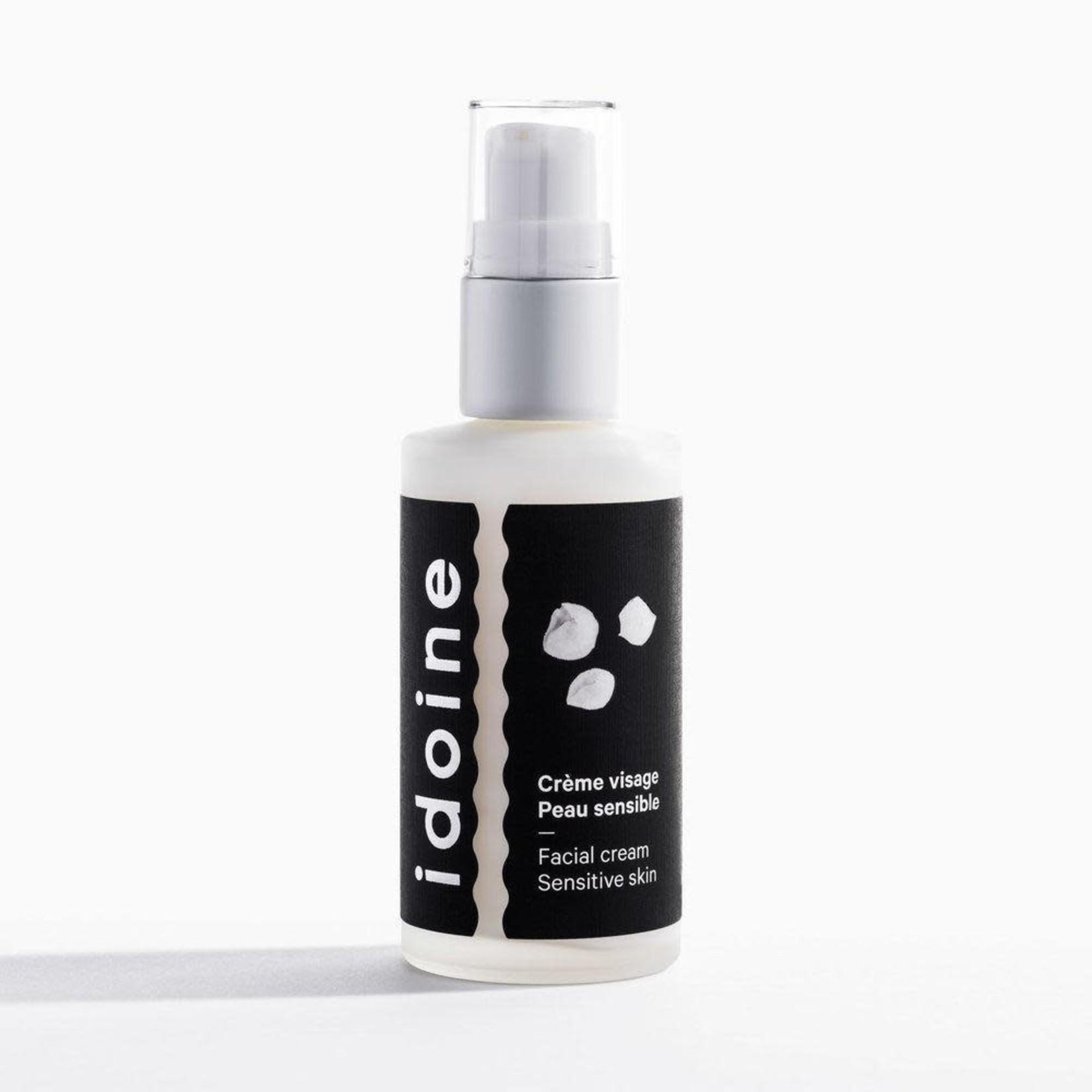 Idoine Crème visage peau sensible