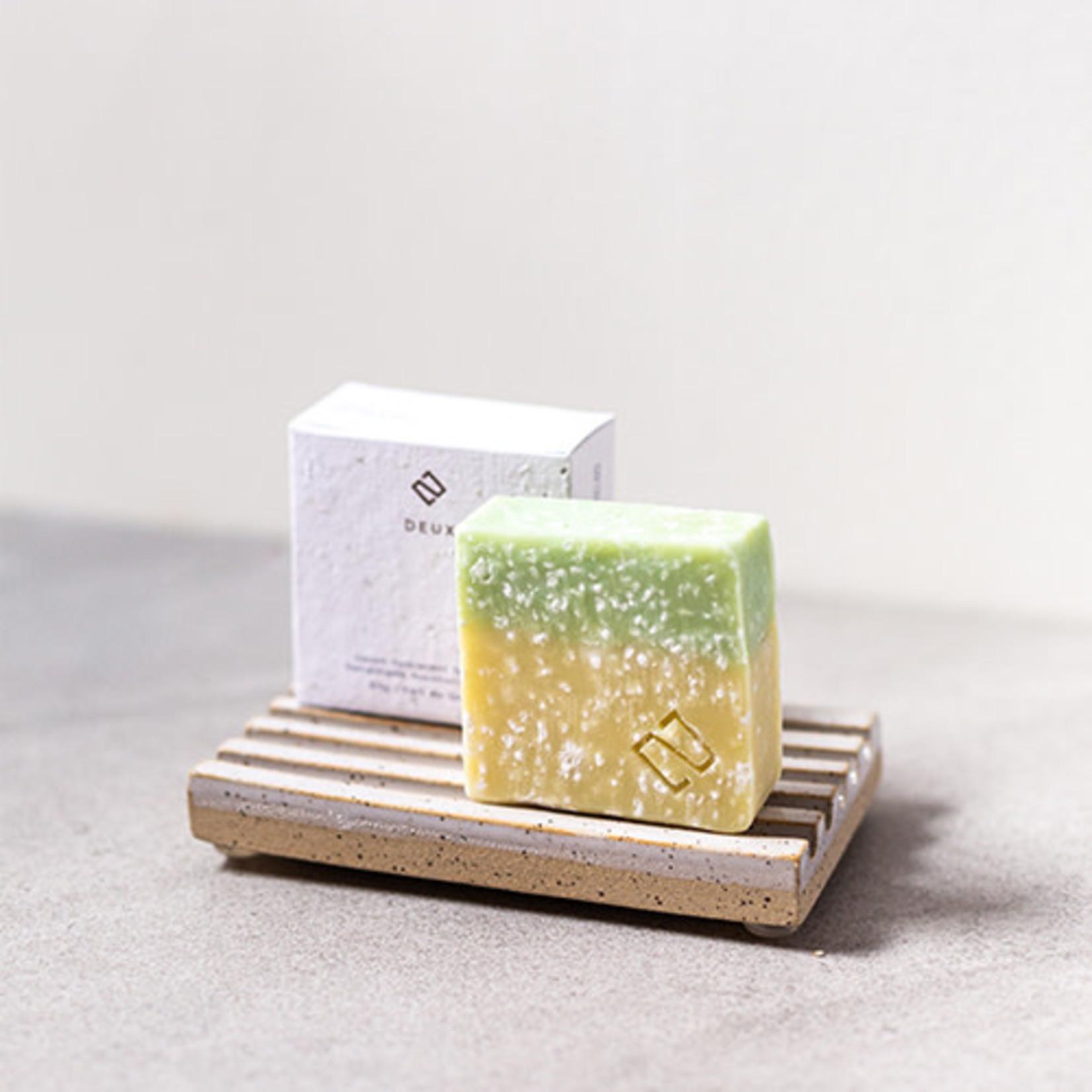 Deux cosmetiques Savon menthe et sel