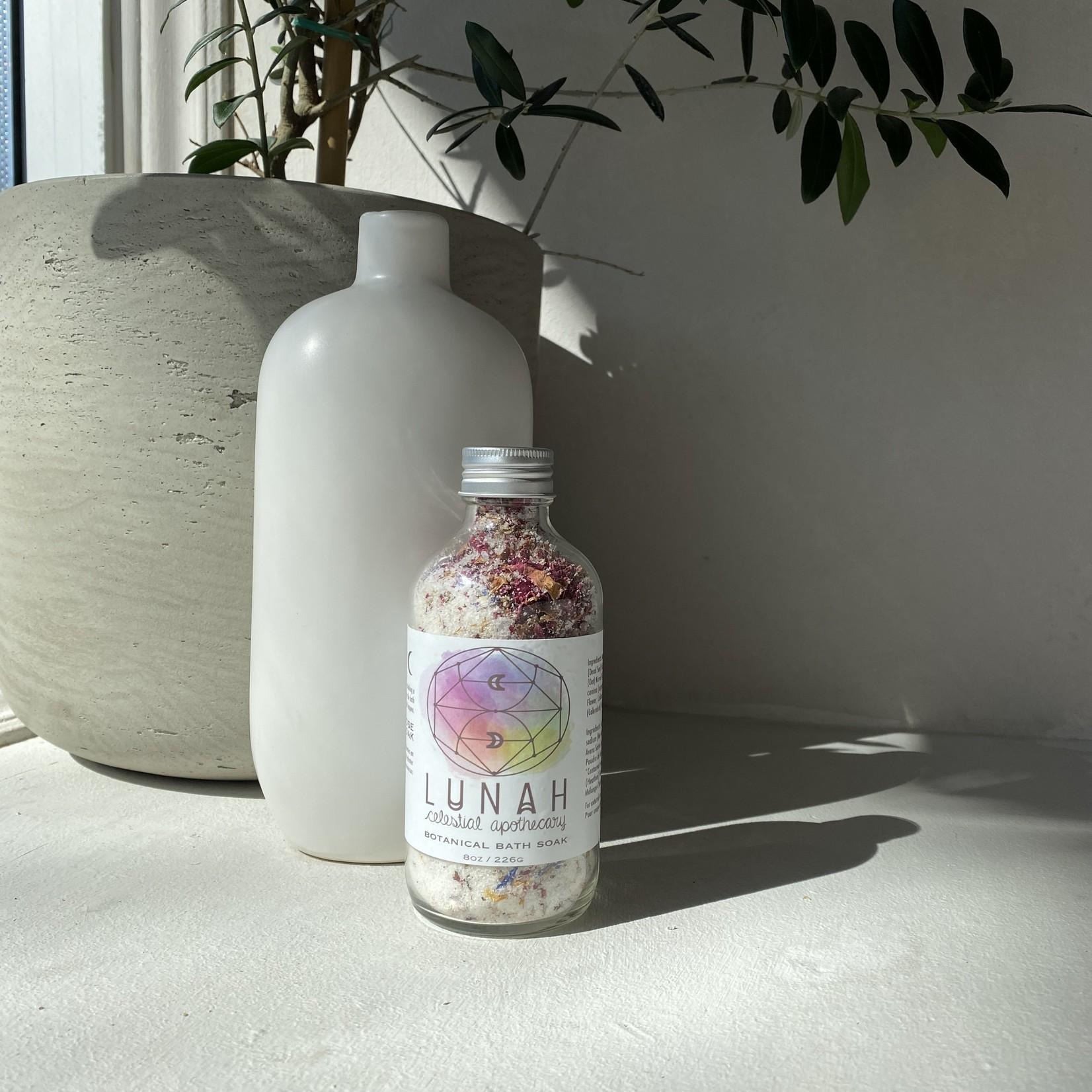 Lunah Life Sel de bain lait de coco et rose