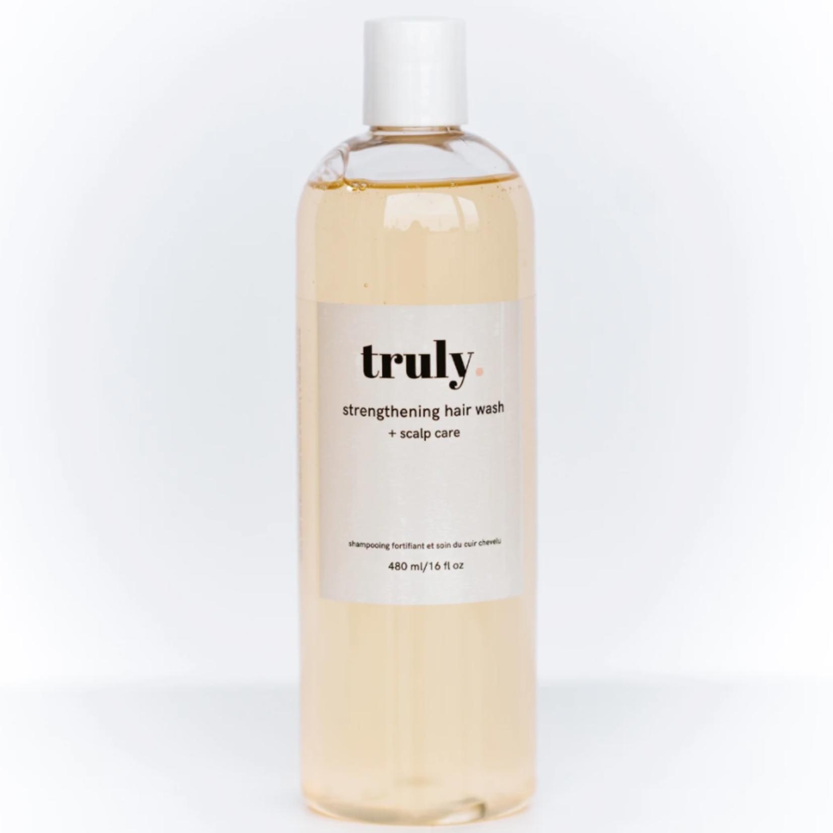 Truly lifestylebrand Shampoing  fortifiant + soin du cuir chelevu