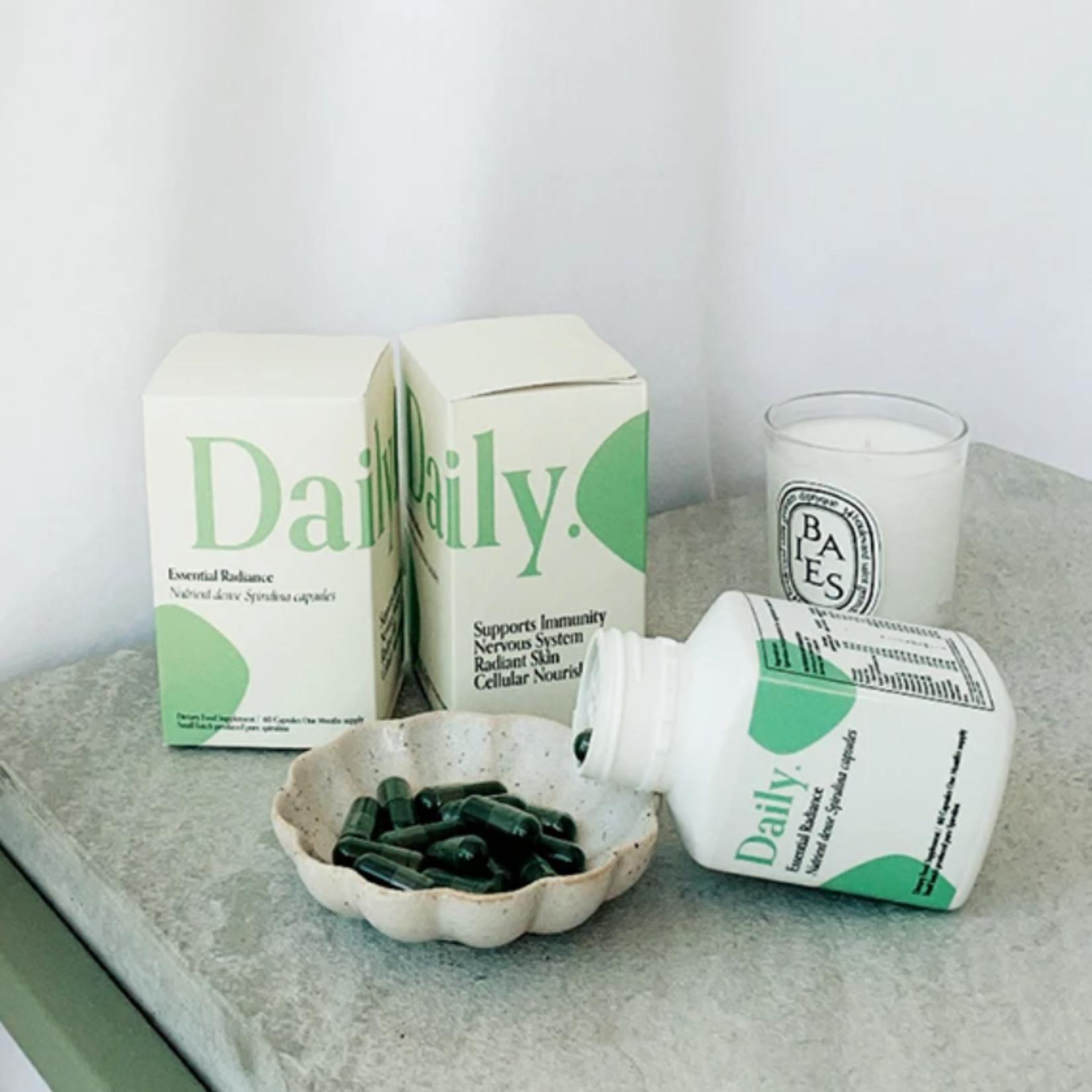 Daily wellness ESSENTIAL RADIANCE SPIRULINA CAPSULES