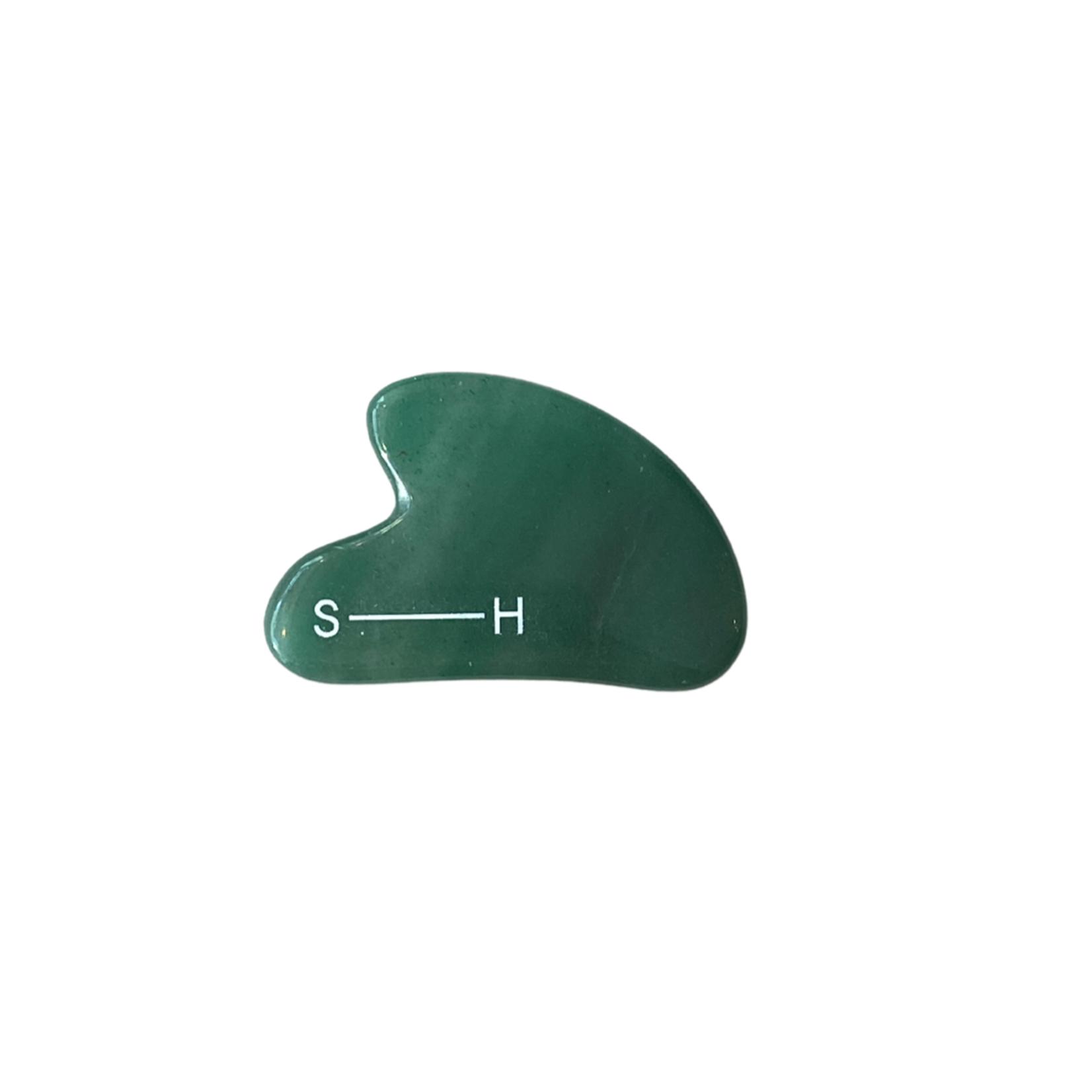 Le suppliher GUA SHA Jade vert foncé