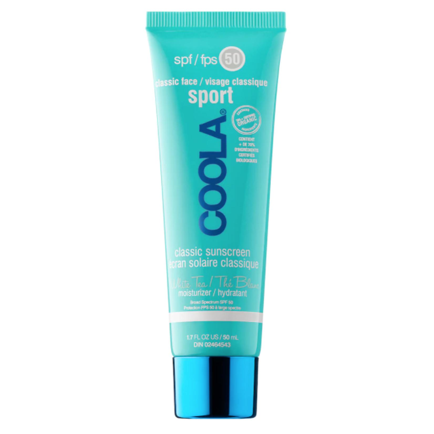 Coola Écran solaire sport SPF 50 (visage)