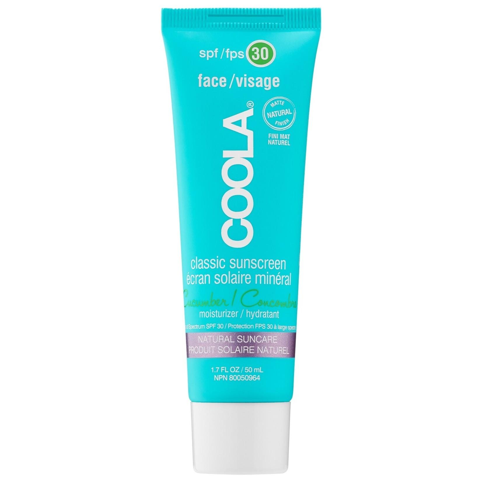 Coola Écran solaire concombre SPF 30 (visage)