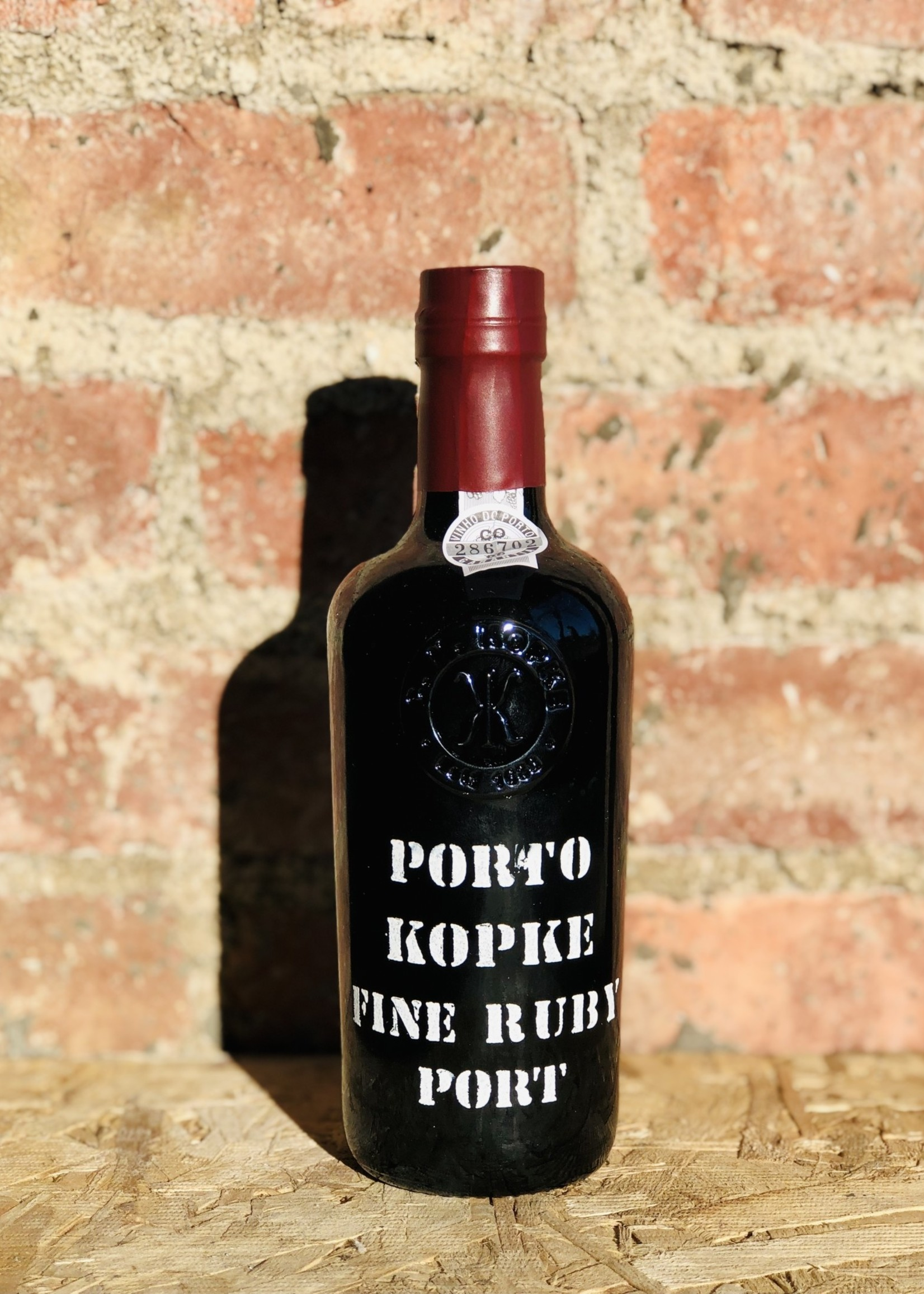 Kopke 1/2 Bottle  Fine Ruby Port [Porto Kopke Fine Ruby Port] (Douro, Portugal) NV