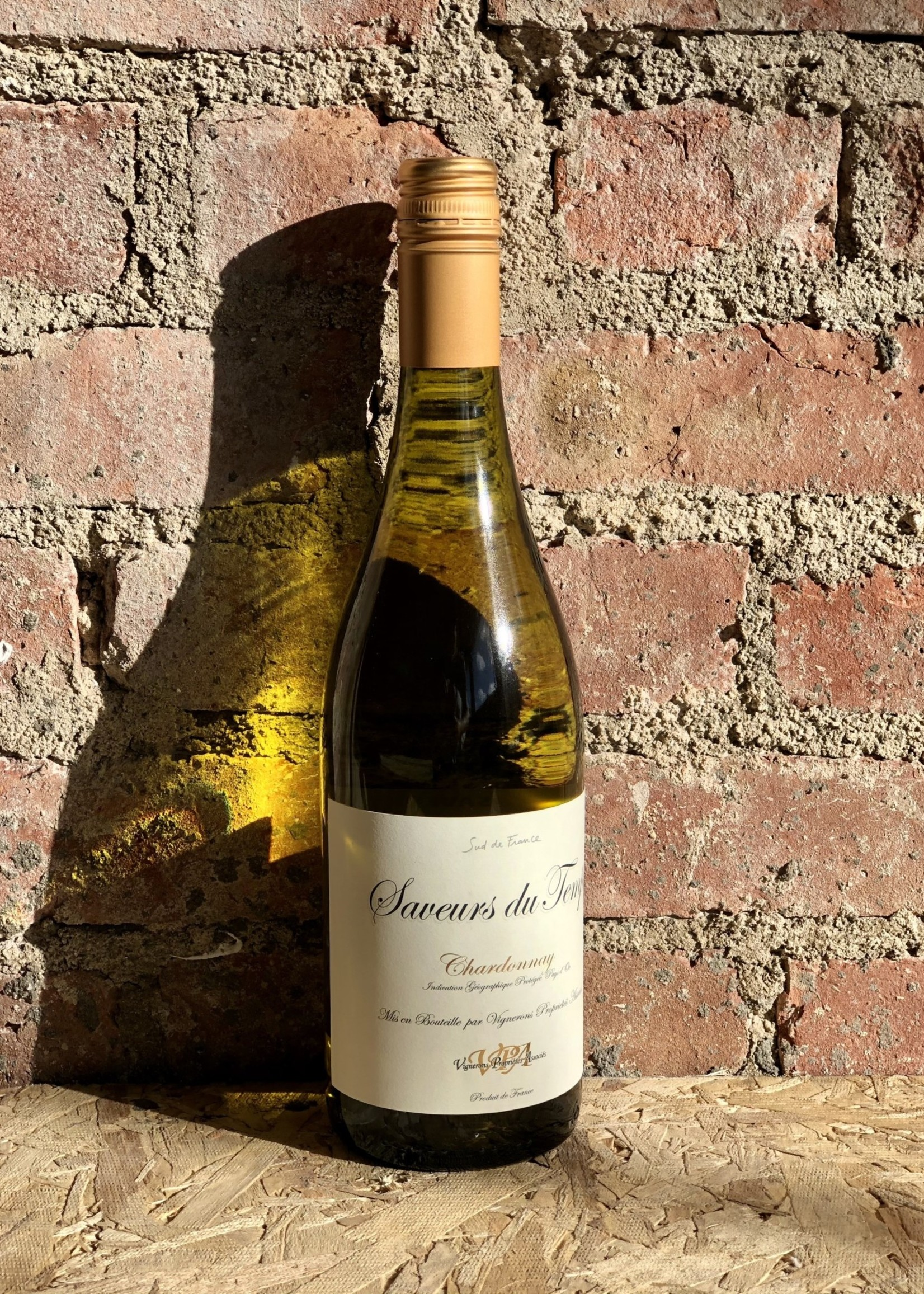 Saveurs du Temps Chardonnay 2019 (Pays D'Oc, France)