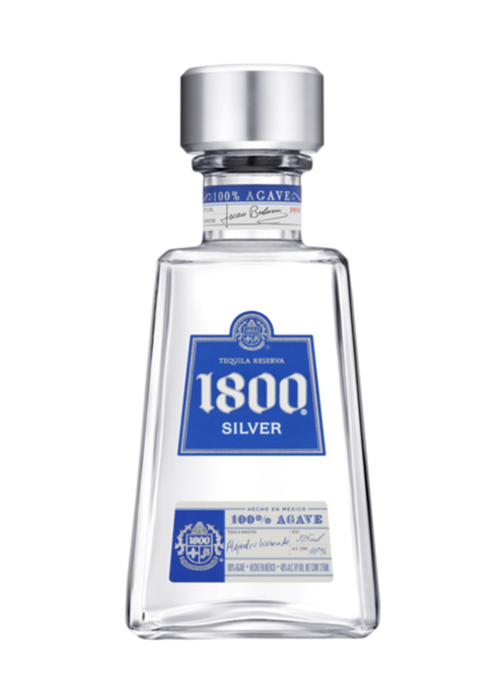 1800 Silver Tequila 375mL