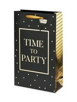 Time To Party Double Bottle Gift Bag