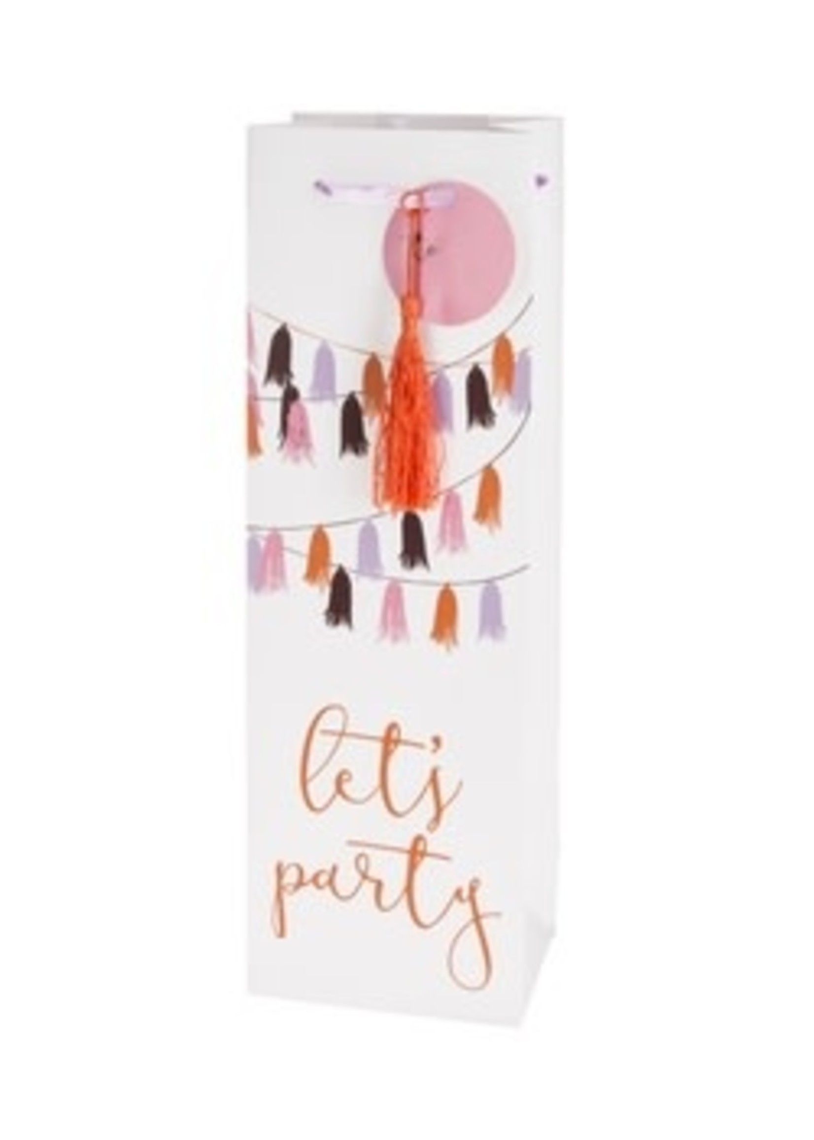 Let's Party Wine Gift Bag