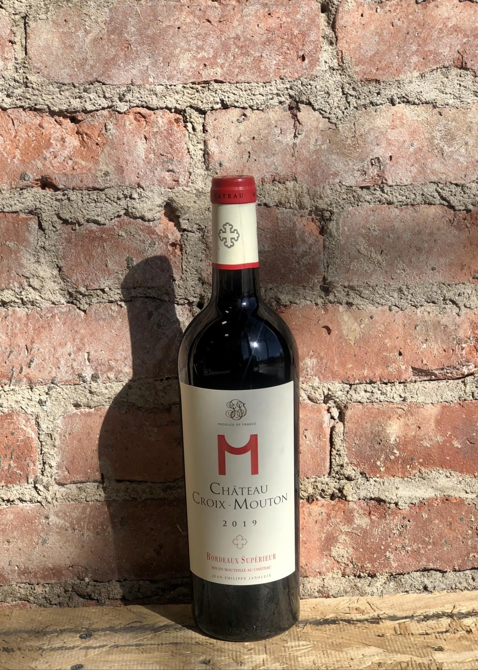"""Château Croix-Mouton """"M"""" 2019 (Bordeaux Superieur, France)"""
