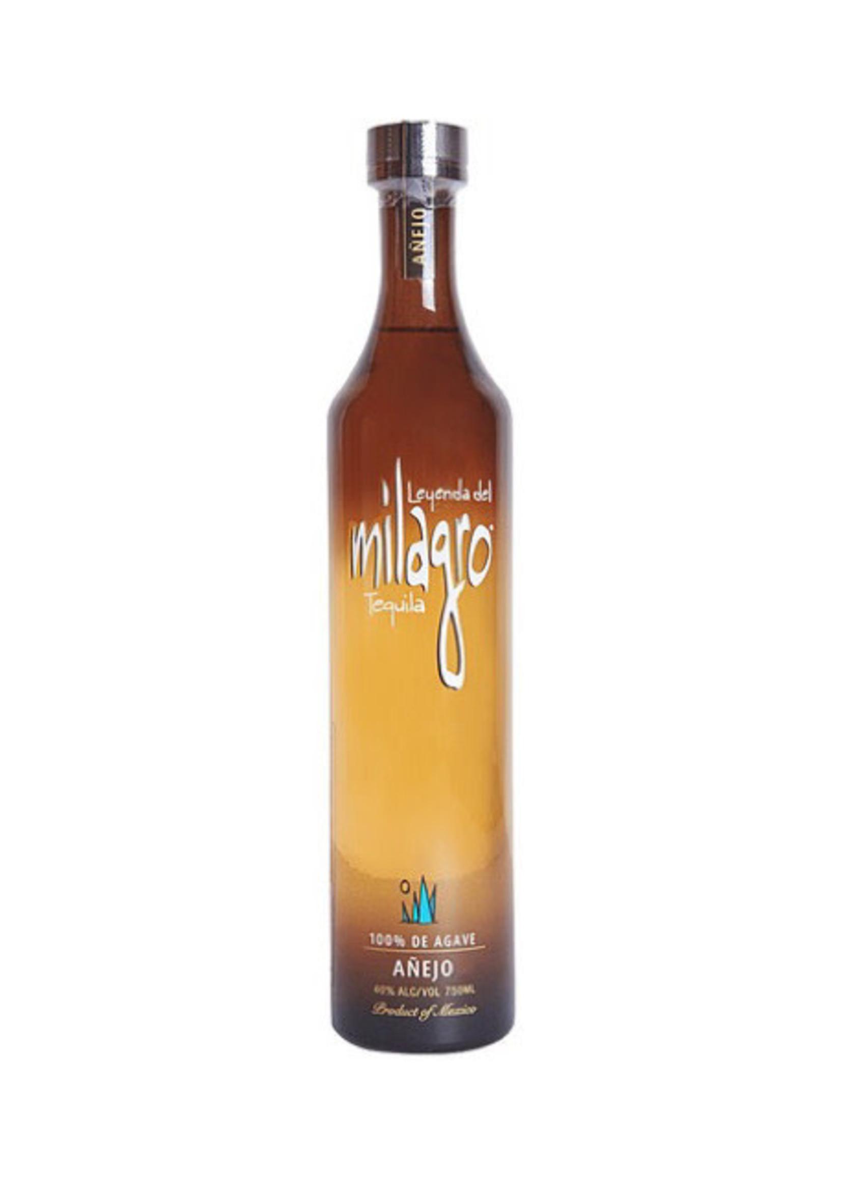 Milagro Tequila Anejo 750 ML