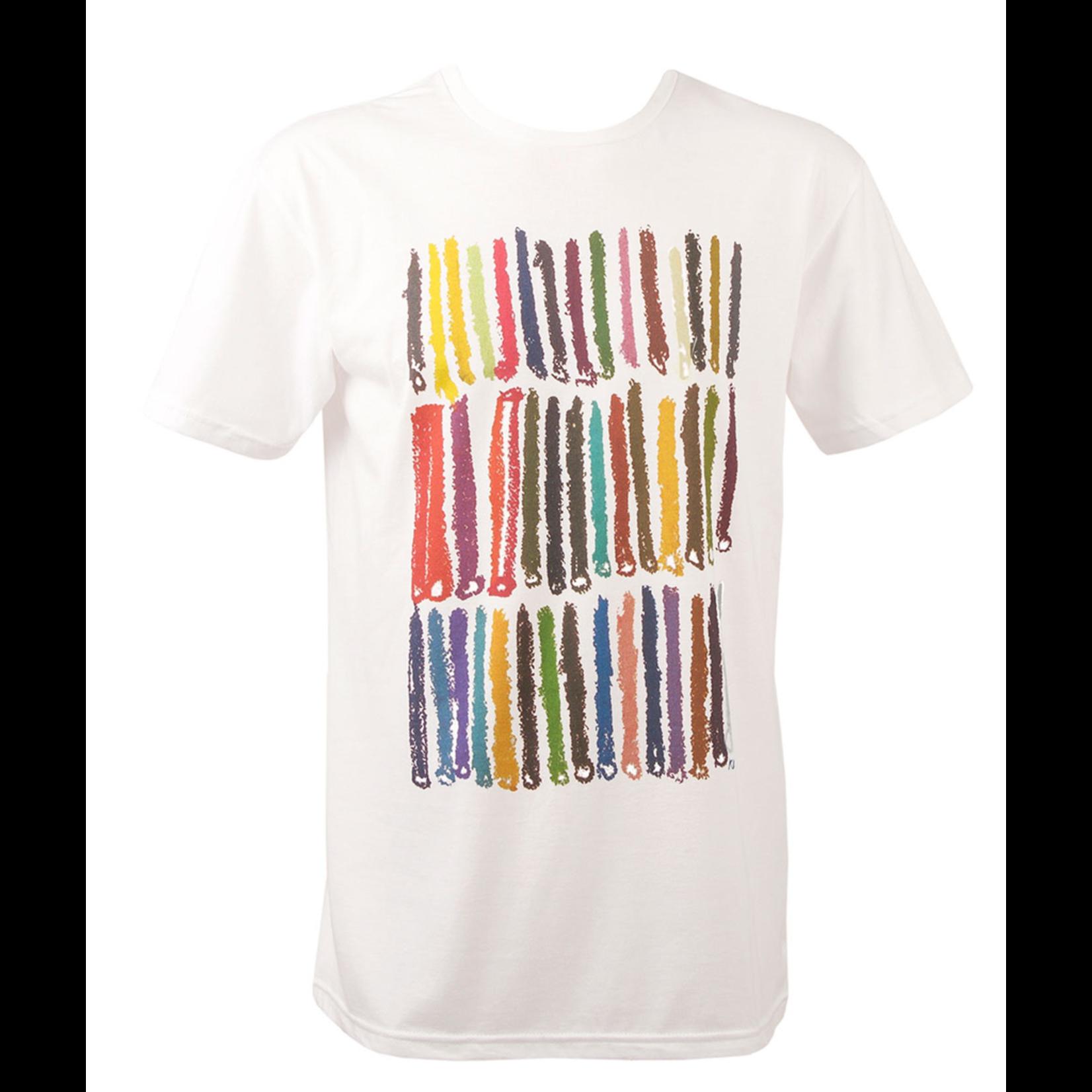 Clothing Tshirt - Crayons White