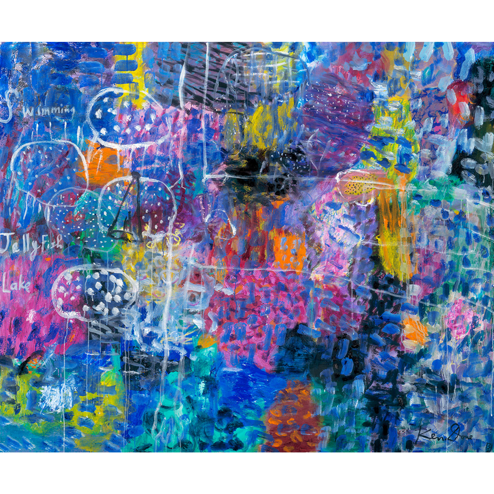 Limited Edition Prints Swimming in Jellyfish Lake, 2013