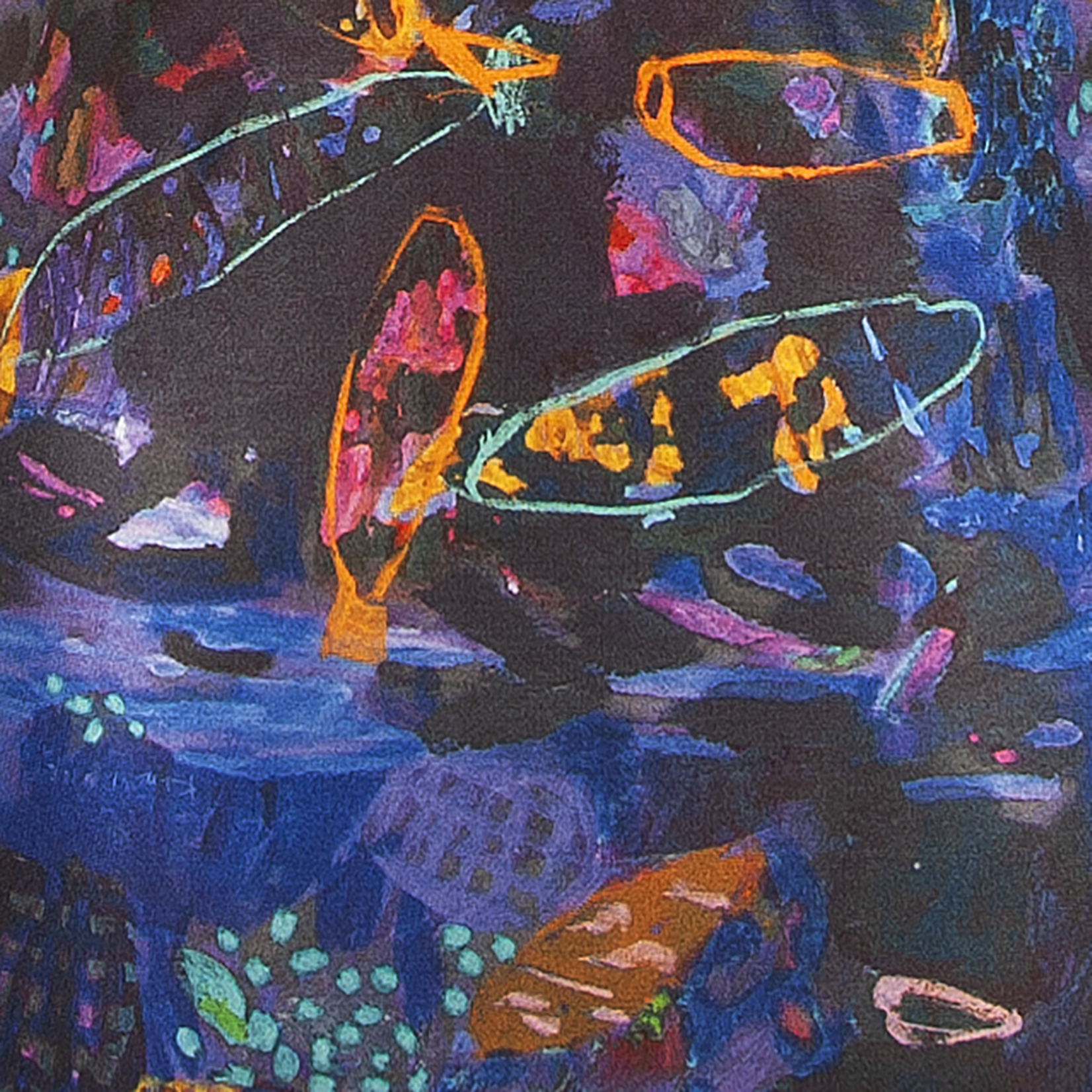 Clothing Swimwear - Night opal reef