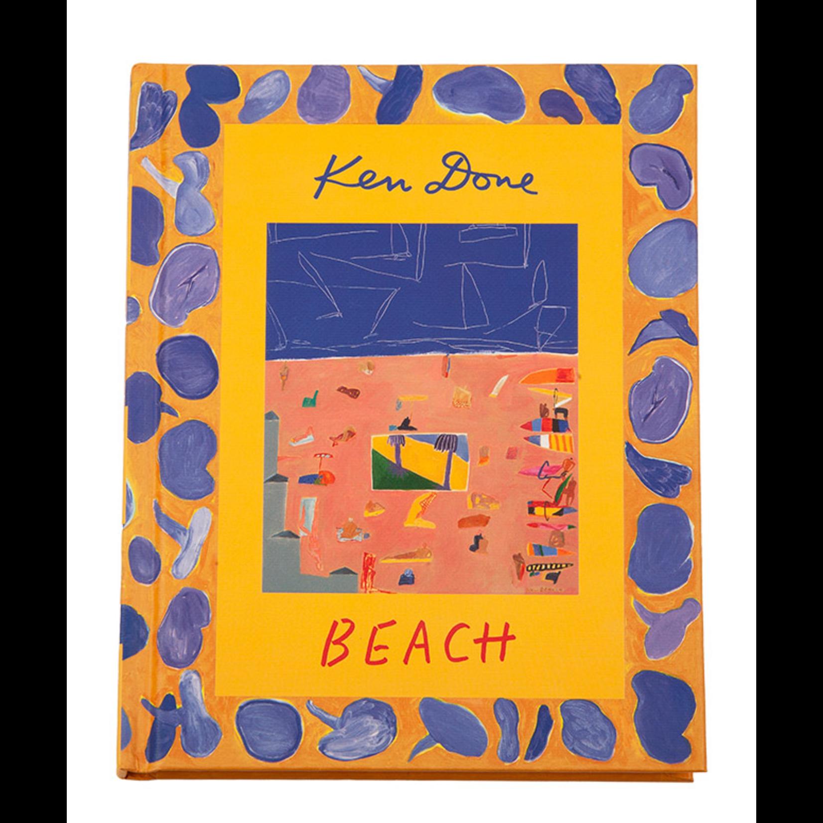 Books & Stationery Book - Ken Done - Beach - Hardcover mini book