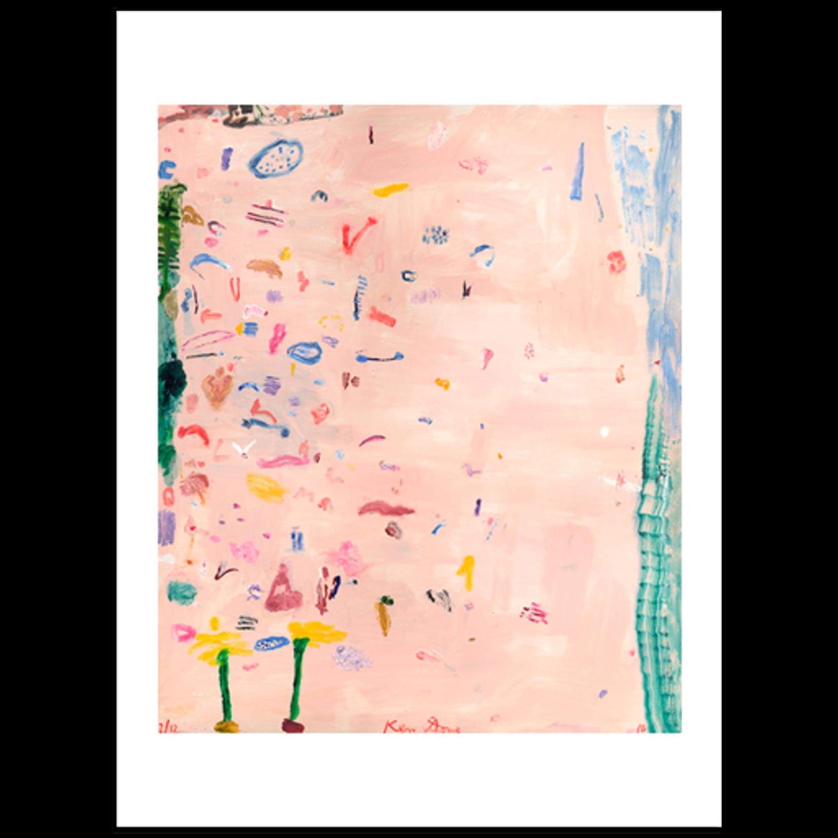 Limited Edition Prints Big December Beach, 2018