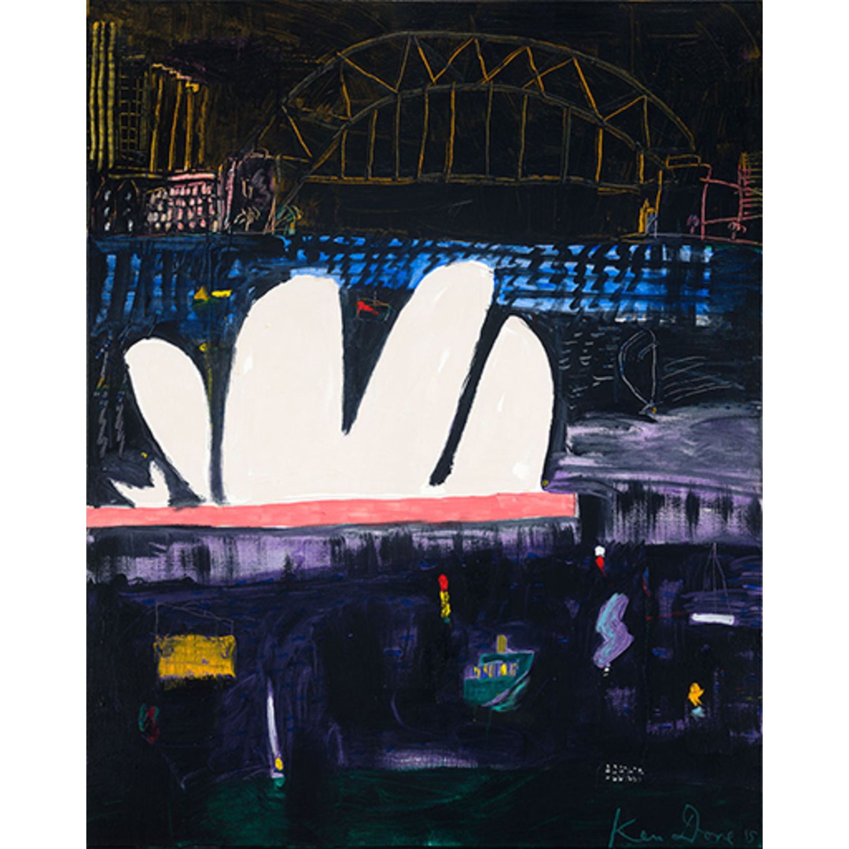 Limited Edition Prints Harbour night, 2015