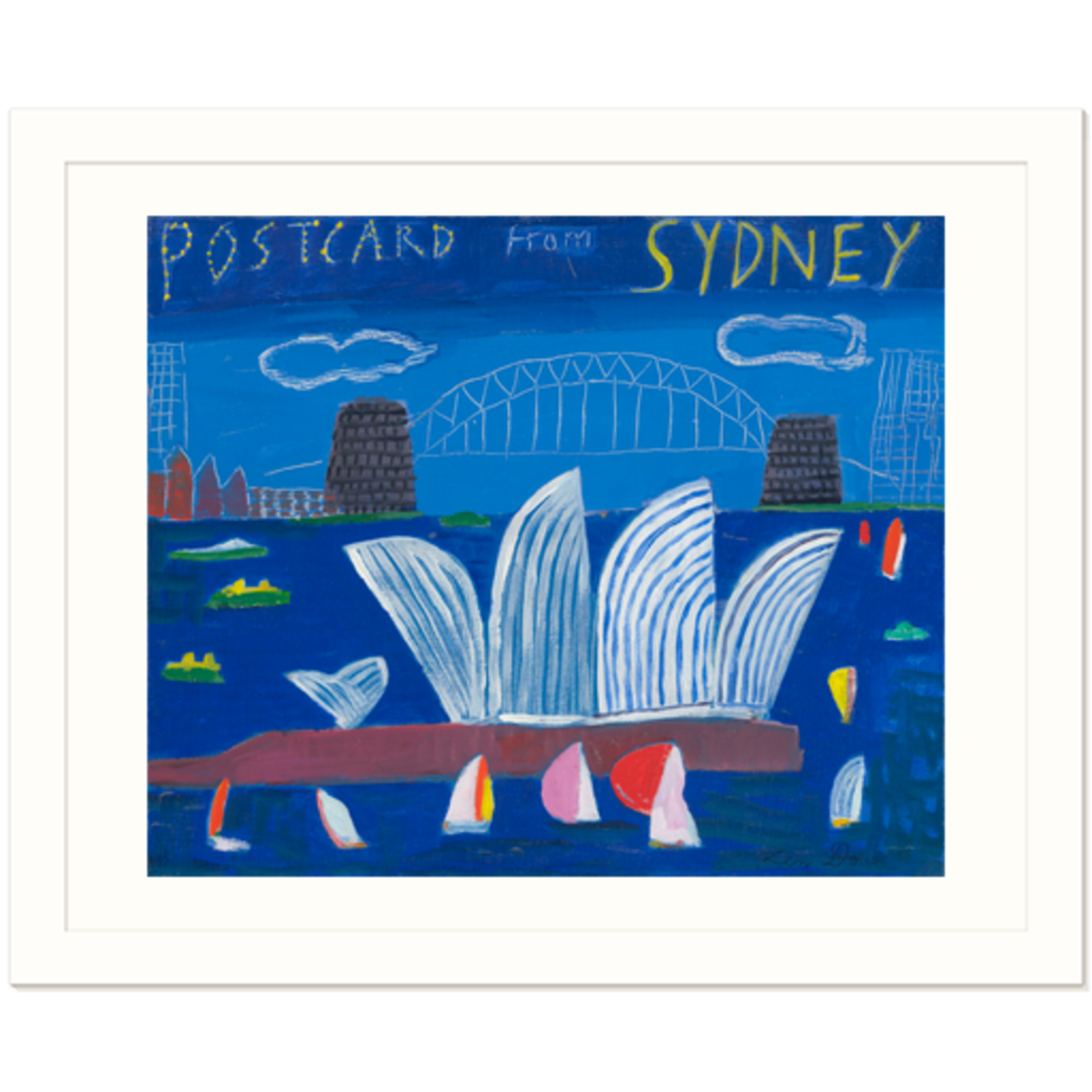 Limited Edition Prints Postcard from Sydney, 2013