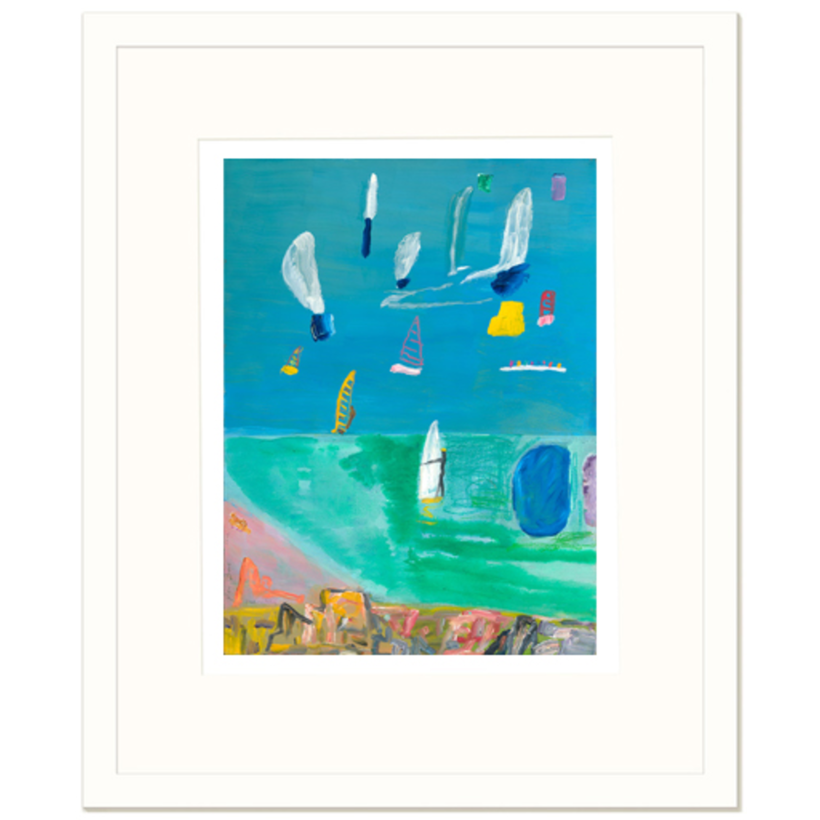 Limited Edition Prints Beach and sailing, 2014
