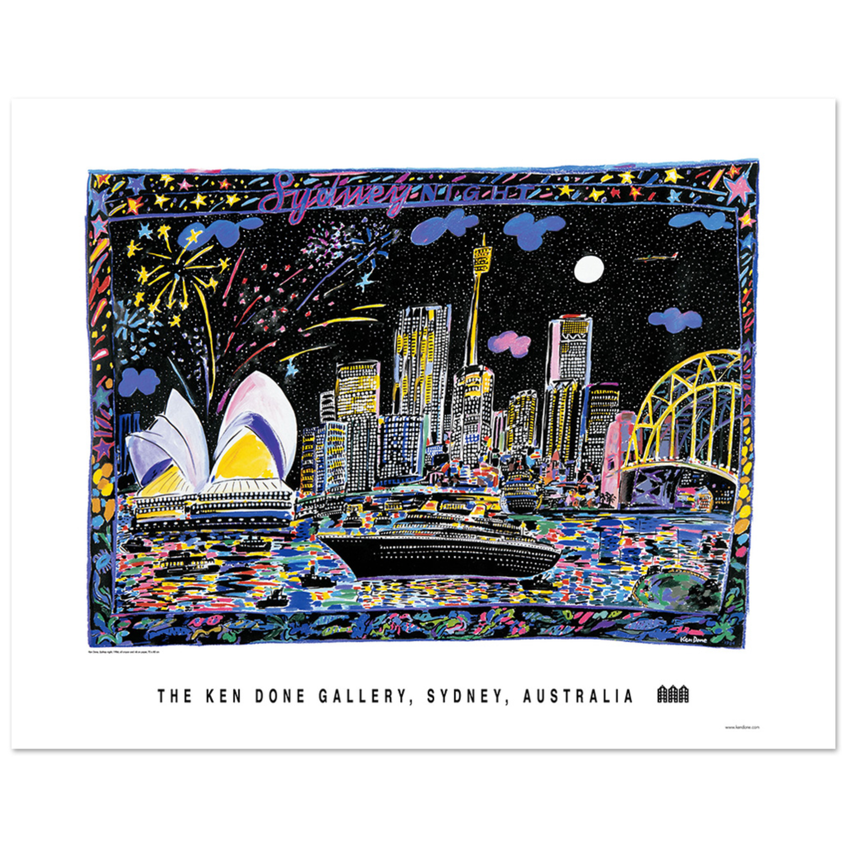 Posters Poster - Sydney Night