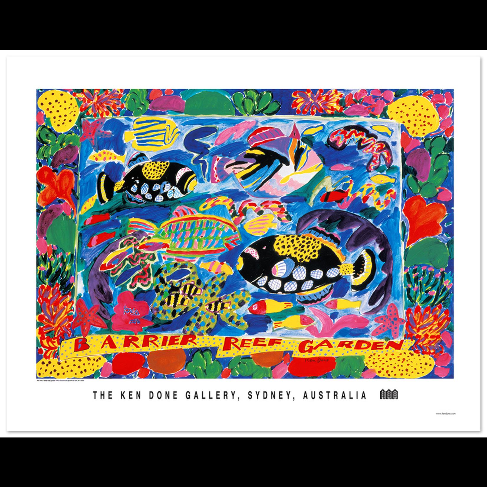 Posters Poster - Barrier Reef Garden