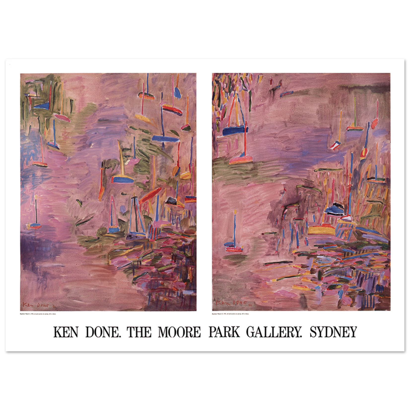 Posters Poster - Rainbow Waters