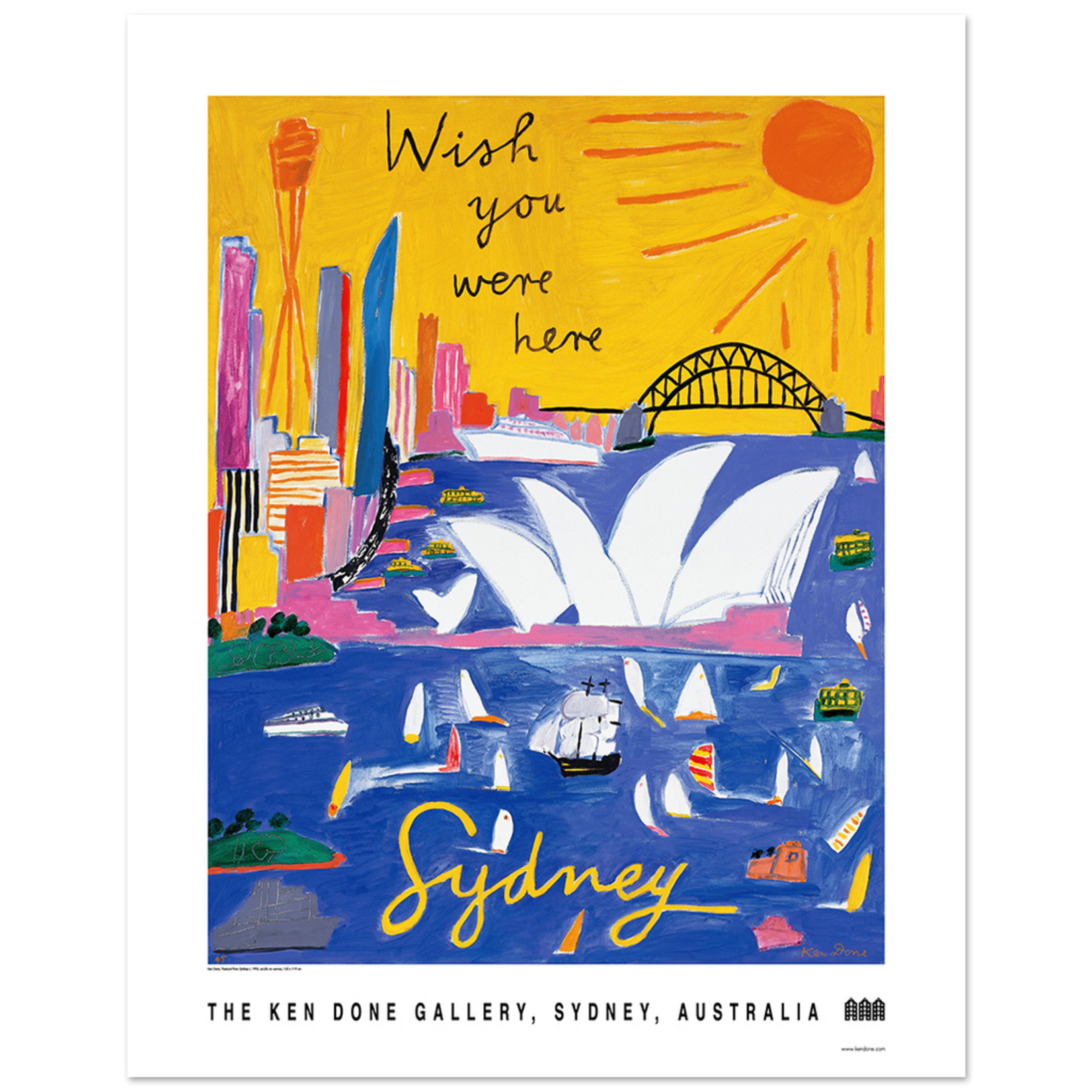 Posters Poster - Wish You Were Here