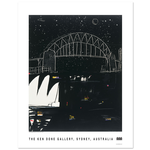 Posters Poster - Sydney Night 3/4 Moon