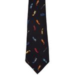 Accessories Silk tie - Paint