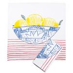 Homewares Napkins set of 2 - Sydney Bowl of Lemons
