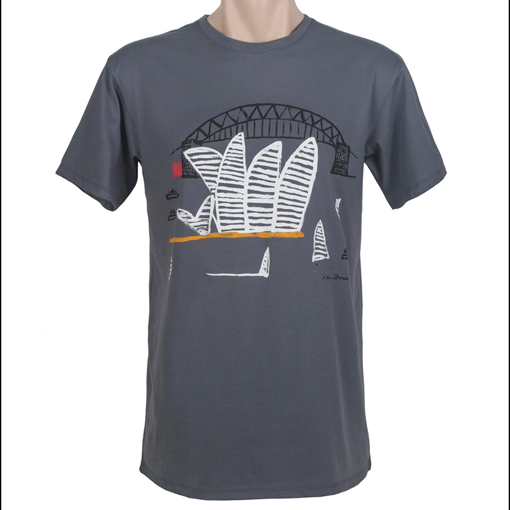 Clothing Tshirt - Classic -  Sydney Harbour Grey