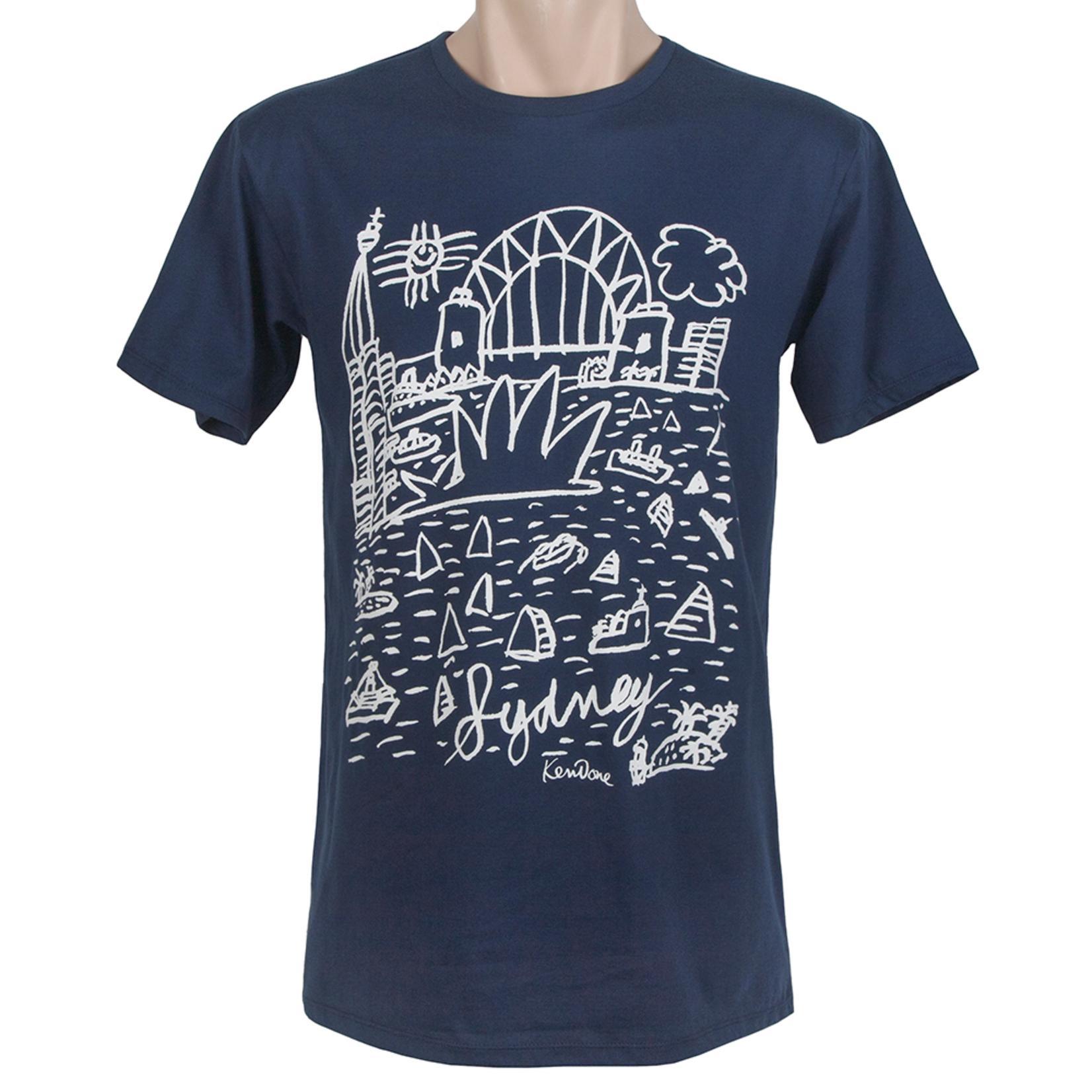 Clothing Tshirt - Classic - Sydney Vintage Navy